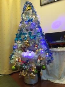 自宅のクリスマスツリー1