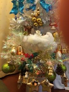 自宅のクリスマスツリー3