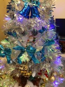 自宅のクリスマスツリー4