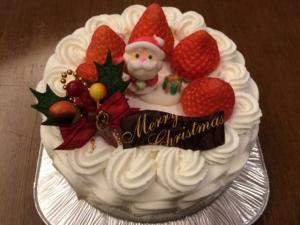 2014クリスマスケーキ2