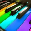 カラー鍵盤