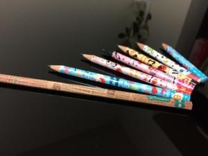 レッスンで使う鉛筆
