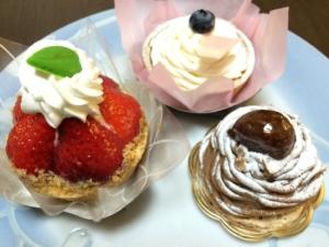 2015ホワイトデーのケーキ